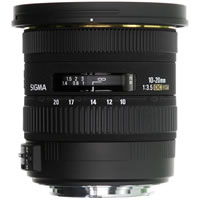 SigmaAF 10-20mm f/3.5 EX DC HSM Lens for Sigma