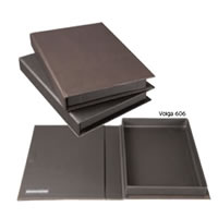 PratVolga 12 x 9 Black Presentation Box
