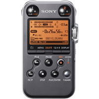 SonyPCM-M10 Portable Digital Solid State 4GB Field Recorder