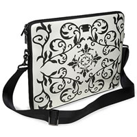 AcmeMadeSmart Little Laptop Sleeve NetBook Wet White Antik