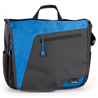 Skooba DesignTechlife Netbook Messenger Deep Sea Blue