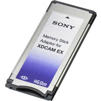 SonyMEAD-MS01 Memory Stick Adapter for XDCAM EX