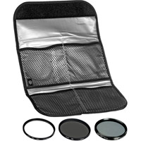 Hoya58mm Digital Filter Kit UV, PL-CIR,  Neutral Density 8x, Pouch