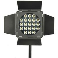 LS LightingLED Video Spot Light w/Dimmer (Round Unit - 21 large LEDs)
