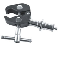 E-ImageMini accessory clamp 1/4-20 & 3/8-16 treads