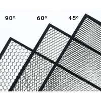 Kino FloDiva-Lite 200 Louver-Honeycomb 45 Degrees