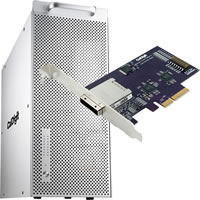 CalDigit8TB HDPro2  with eLane-1e 1 Port PCI-e Host Cart