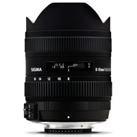 SigmaAF 8-16mm f/4-5.6 DC HSM Lens for Canon