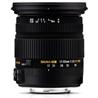 SigmaAF 17-50mm f/2.8 EX DC OS HSM Lens for Canon