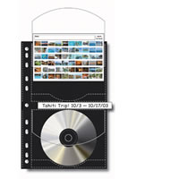 Print FileFour CD/DVD per Pouch and/or 4x6 Index Cards