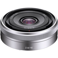 SonySEL16mm f/2.8 Wide Angle Lens