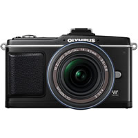 OlympusPEN E-P2 Kit Black w/ 14-42mm Lens