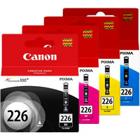 CanonCLI-226 C,M,Y,BK Ink Value Pack