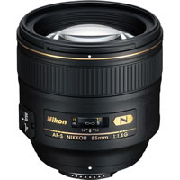 NikonAF-S 85mm f/1.4 G Telephoto Lens
