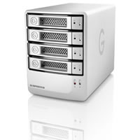 G-Technology4TB G-Speed Q Raid 0/5 Selectable w/ Quad Interface & 3.5