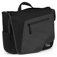 Skooba DesignTechlife Compact Messenger Bag Charcoal/Abyss Black