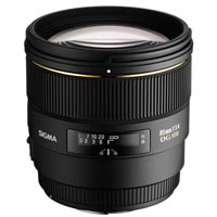 SigmaAF 85mm f/1.4 EX DG HSM Lens for Nikon