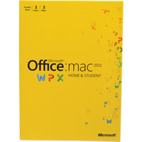 MicrosoftOffice 2011 Mac Home Student Family Pack Eng DVD 3 install
