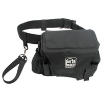 Porta-BraceAssistant Camera Pouch with Belt - Large - Black