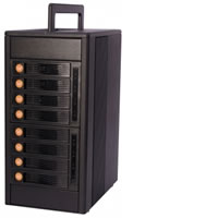 WiebetechRTX800-NJ Bundle Includes 8-Bay Tower, RAID Host, Cables,and ext. warranty (3yrs)