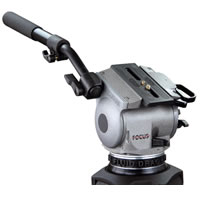 CartoniFocus HD System with Fluid Head H527, Carbon 2 St Tripod T622/2, Mettallic Floor Spreader S732