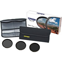 Tiffen77mm Neutral Density 3 Filter Kit  Contains: ND 0.6,0.9,1.2 Pouch