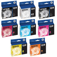 EpsonStylus R2000 Color Ink Set 8 Cartridges