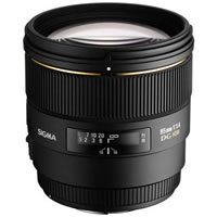 SigmaAF 85mm f/1.4 EX DG HSM Lens for Canon