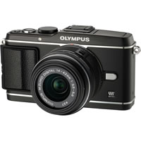 OlympusPEN E-P3 Kit Black w/ 14-42mm II R Lens