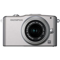 OlympusPEN E-PM1 Kit Silver w/14-42mm Lens