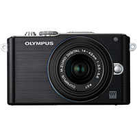 OlympusPEN E-PL3 Kit Black w/ 14-42mm II R Lens