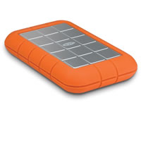 LaCie500GB Rugged Mobile Hard Disk Firewire 800/400 USB 3.0 7200rpm Bus Powered