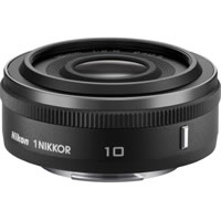 Nikon1 NIKKOR 10mm f/2.8 Black Lens
