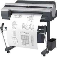 CanonimagePROGRAF iPF605 with Stand Large Format Printer