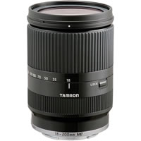 TamronAF 18-200mm f/3.5-6.3 Di-III VC Lens for Sony NEX-Series (Black)