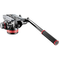 Manfrotto502HD Pro Fluid Video MVH502AH Head Flat Base