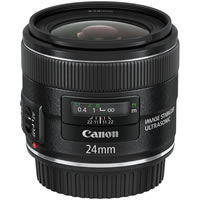 CanonEF 24mm f/2.8 IS USM Wide Angle Lens