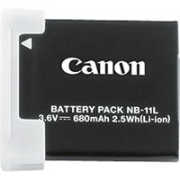 CanonNB-11L Battery for Elph 110HS Elph 320HS, A4000/3400/2400/ 2300