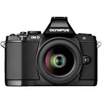 OlympusOM-D E-M5 Black Kit w/ 14-42mm Lens