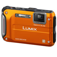 PanasonicLumix DMCTS4 Orange