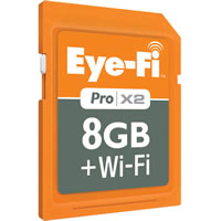 Eye-Fi8GB Pro X2 Card Class 6
