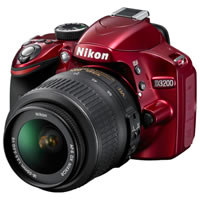 NikonD3200 Body Red