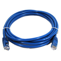 TechCraft10' CAT6 Network Cable - Blue