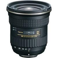 TokinaAF 17-35mm f/4.0 Pro FX SD IF Wide Angle Zoom Lens for Nikon