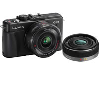 PanasonicLumix DMC-GX1 Black Body w/ 14mm f/2.5 Lens