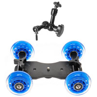 HDSLR SupportSkater Dolly with Arm