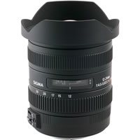 SigmaAF 12-24mm f/4.5-5.6 II EX DG HSM Wide Angle Zoom Lens for Canon