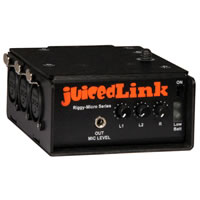 JuicedLinkRM333 Riggy-Micro 3 XLR with Phantom Power