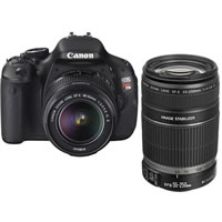 CanonEOS Rebel T3i w/ EF-S 18-55mm IS & EF-S 55-250mm  IS Bundle