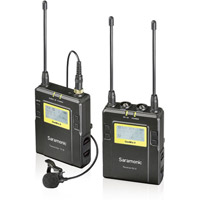 Saramonic UwMic9 STLK - Single TX LAV Kit (1 x TX9 + 1 x RX9 ) - UHF Wireless Mic System